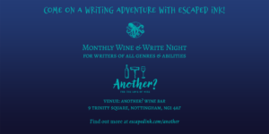 Monthly Wine & Write Night in Nottingham, UK