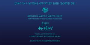 Monthly Wine & Write Night in Nottingham, UK